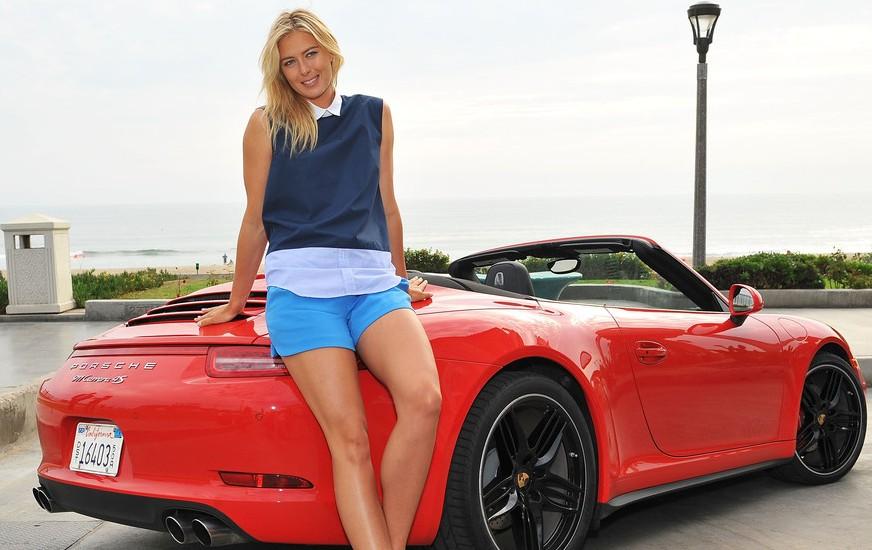 Maria Sharapova - Porsche