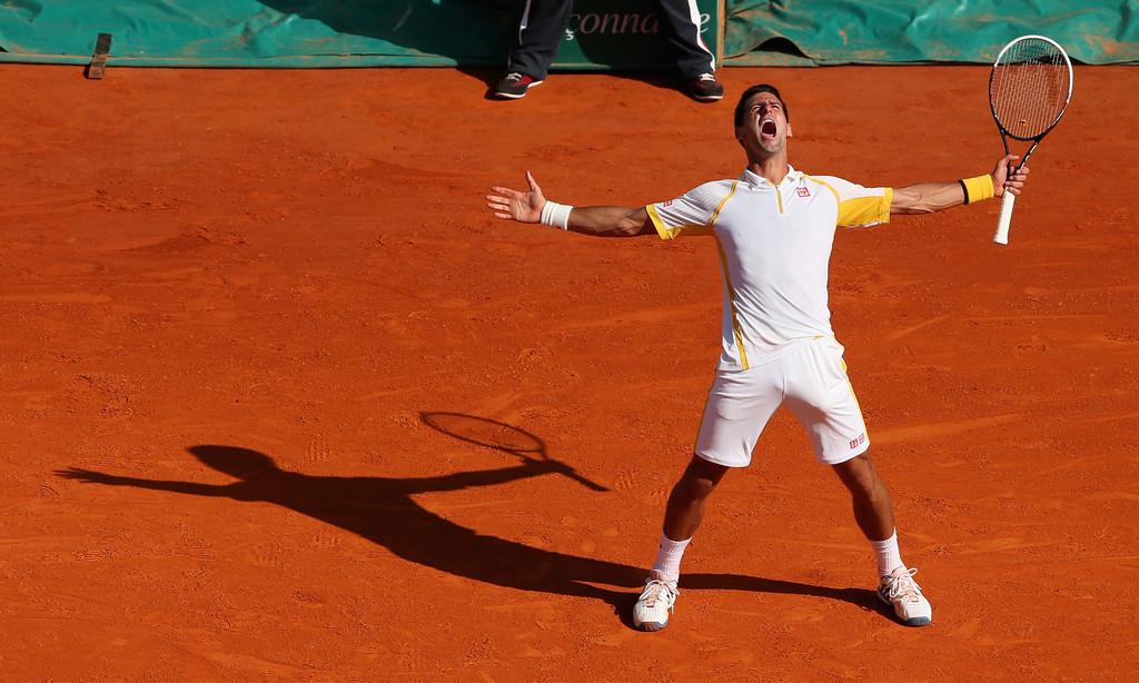 En 2013, Novak Djokovic se convirtió en el primero en vencer a Nadal en Montecarlo desde Guillermo Coria en 2003 (Foto: Getty Images)