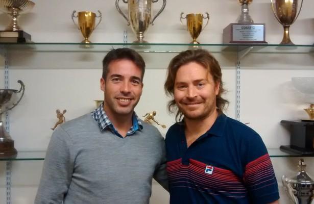 Diego Gomez y Diego Amuy en la AAT