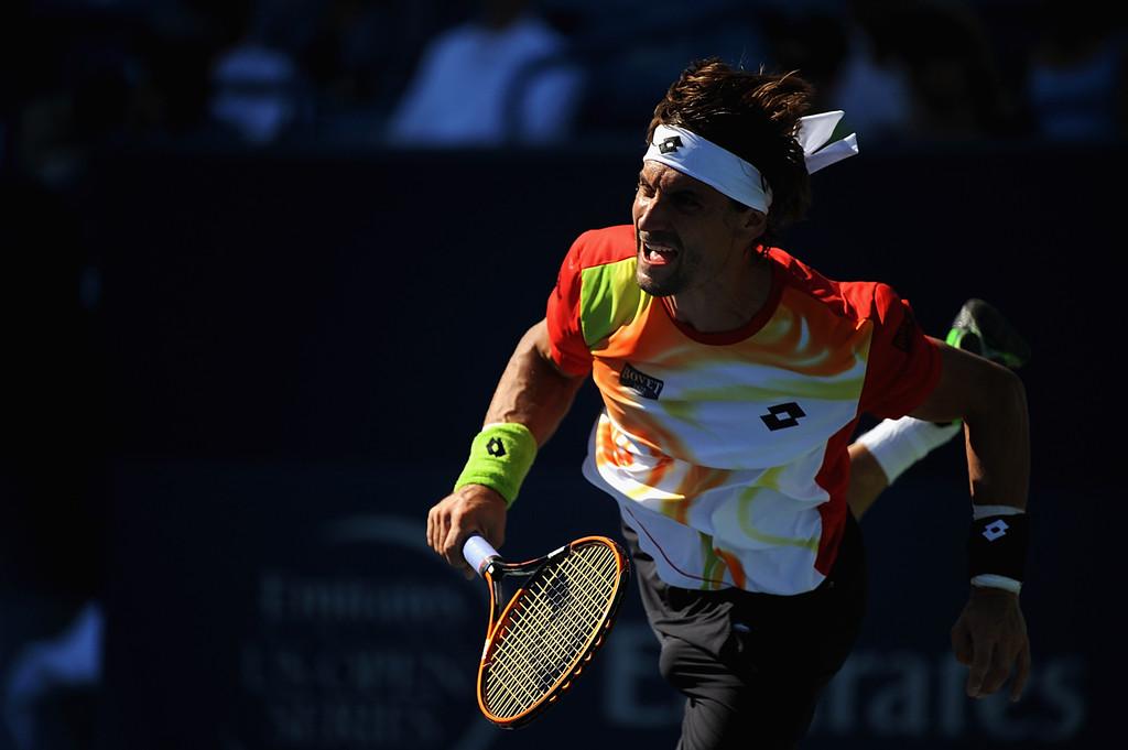 David Ferrer en la final de Cincinnati 2014 (Foto: Getty Images)