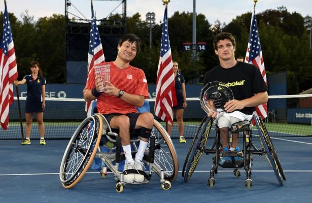 Shingo Kunieda y Gustavo Fernandez Foto: US Open 2014