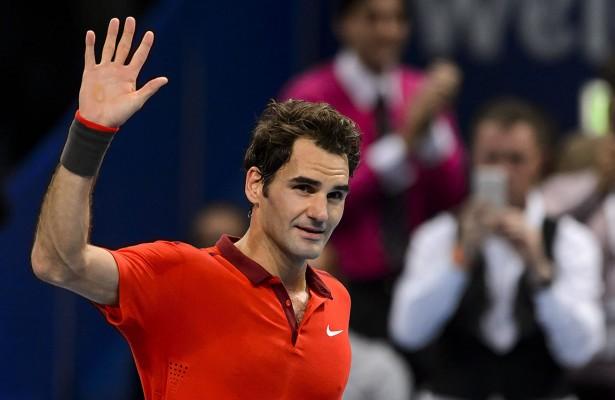 Roger Federer en Basilea (Foto: ATP World Tour)