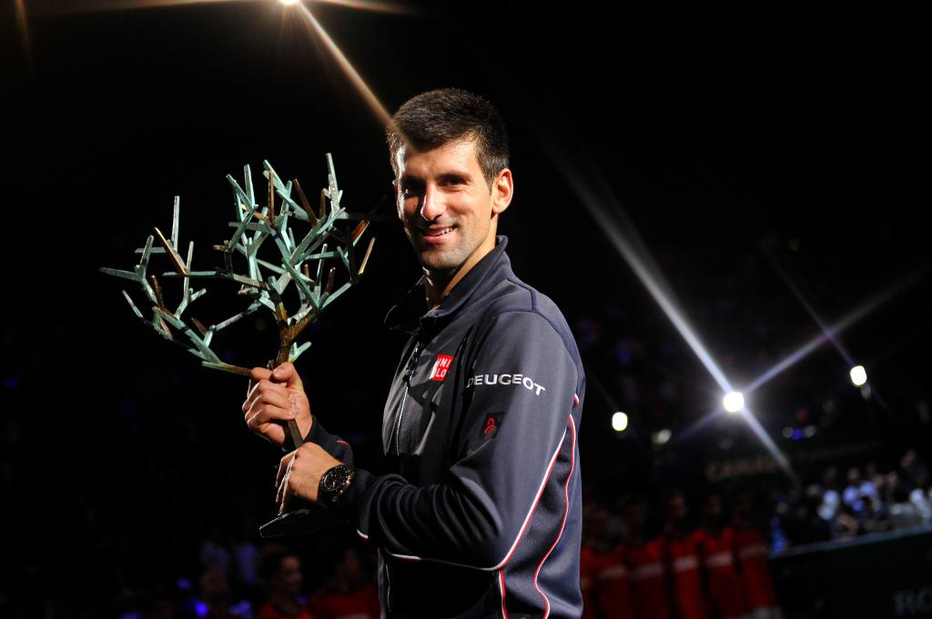 Novak Djokovic campeón en Paris (Foto: ATP World Tour)