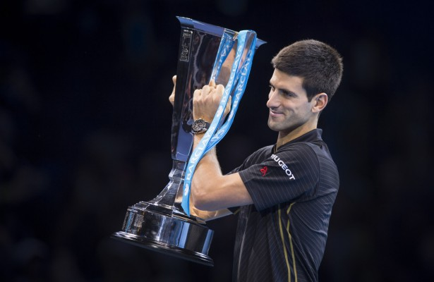 Novak Djokovic en Londres (Foto: Getty Images)