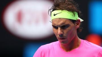 Rafael Nadal enfrentando a Tomas Berdych. Foto: Getty Images