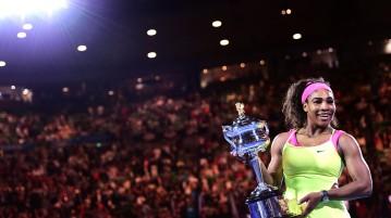 Serena Williams, número uno del mundo y campeona de Australia 2015. Foto: Australian Open.