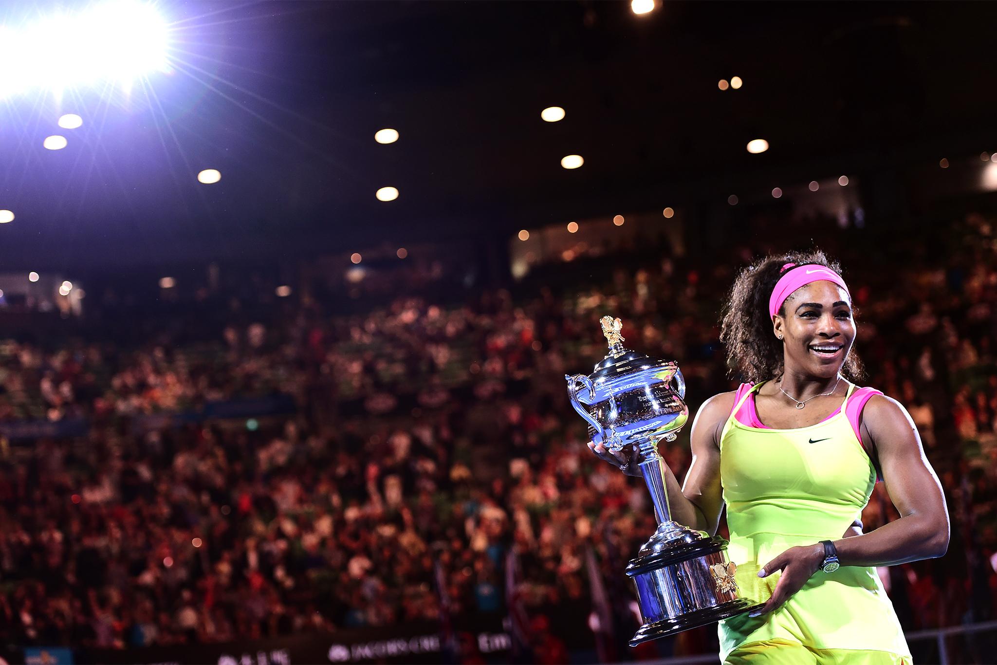 Serena cumple el pronostico y gana su decimonoveno gran Slam.