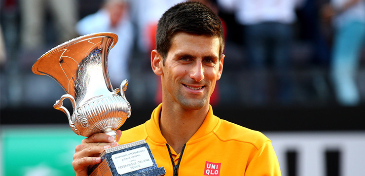 Djokovic campeón en Roma por segundo año consecutivo
