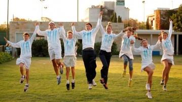 Los equipos argentinos Sub-14 (Foto: AAT)