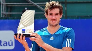 Guido Pella, campeón del Challenger de São Paulo (Foto: João PIres/Fotojump)