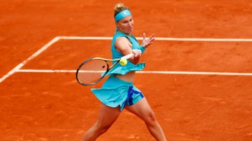 Svetlana Kuznetsova en acción (Foto: Getty Images)