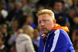 Boris Becker sin vueltas. Foto: Getty Images