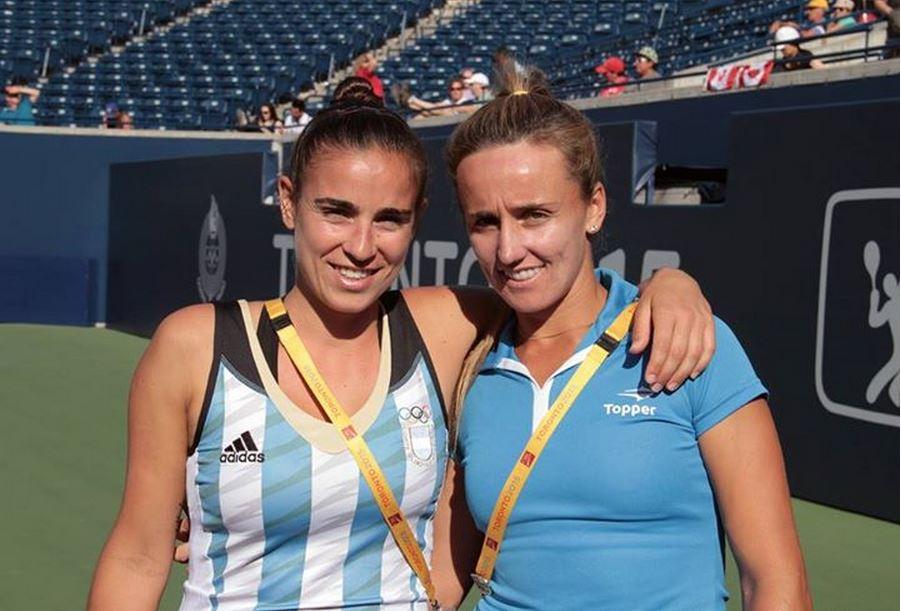 Paula Ormaechea y María Irigoyen ganaron el bronce