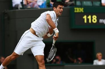 Djokovic gana en dos tiempos, se completan los cuartos de final