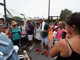 Renzo Olivo en el Argentina Open