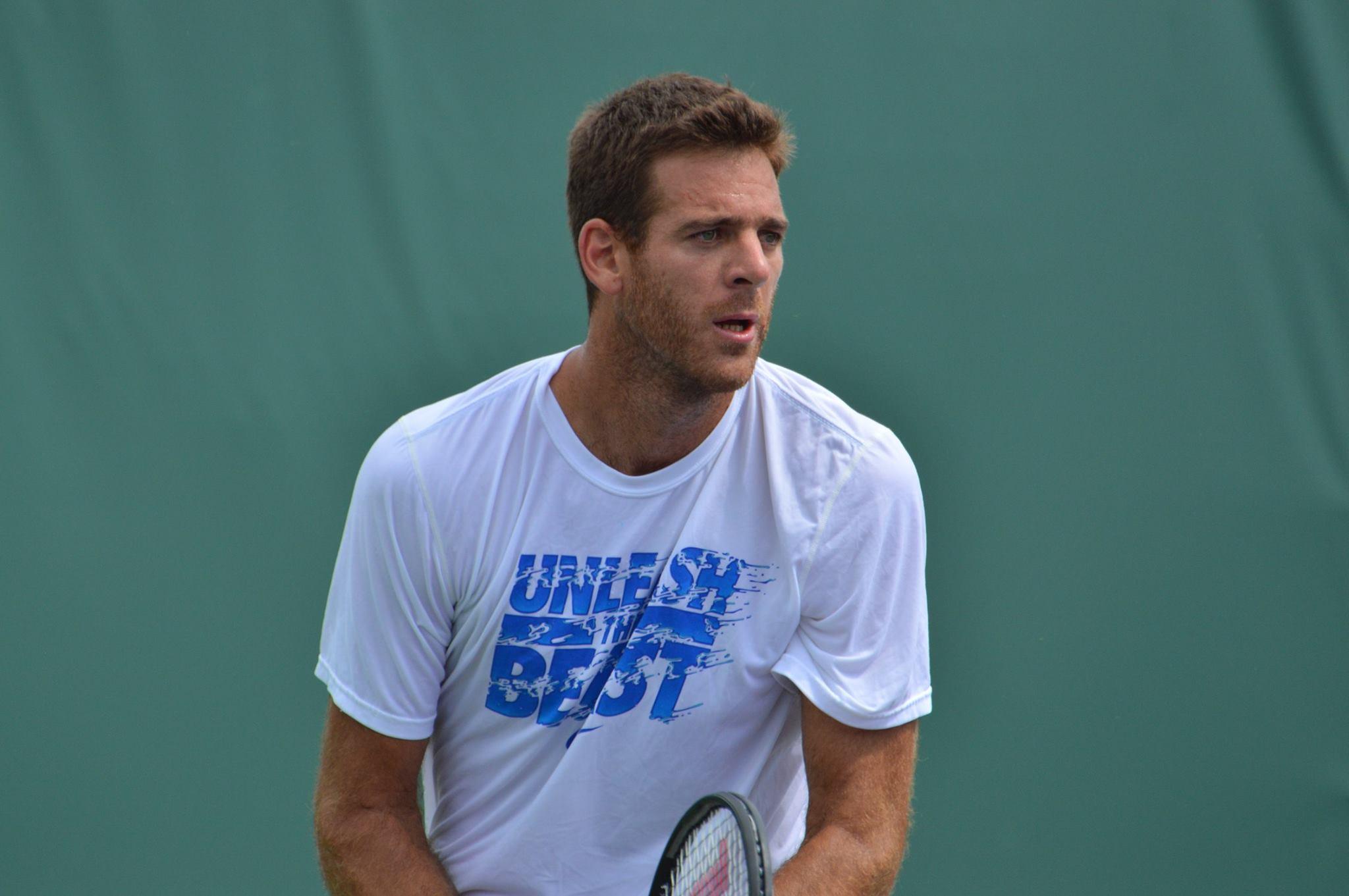 Juan Martín del Potro en el Miami Open