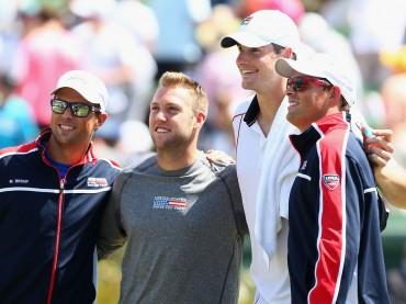 Los Estados Unidos en los cuartos de final de la Copa Davis