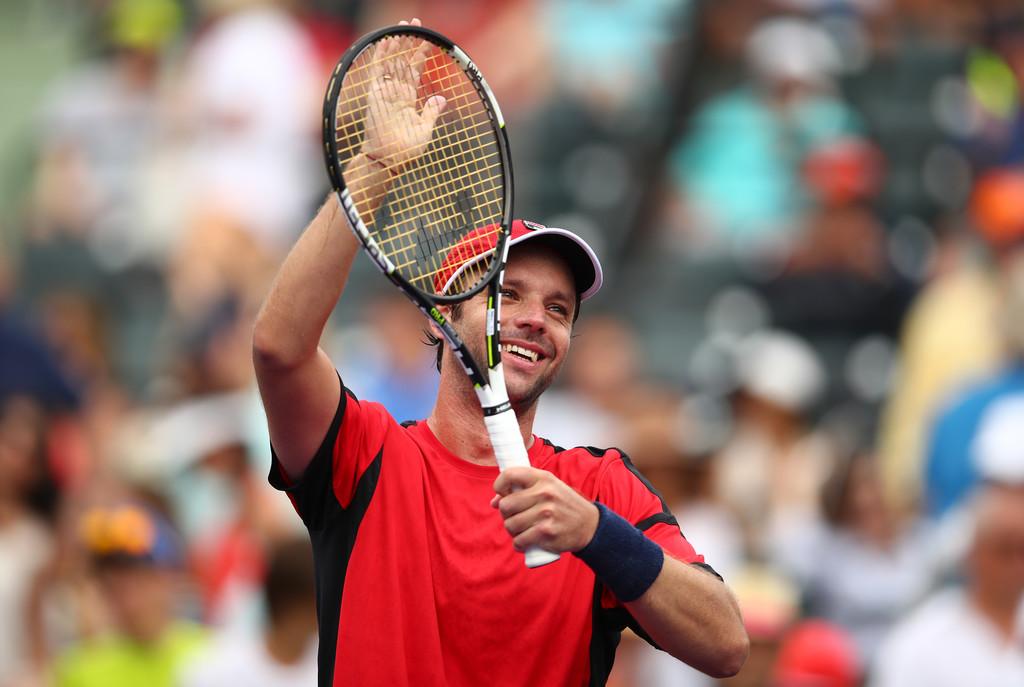 Horacio Zeballos en el Miami Open