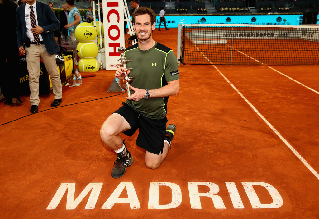 Andy Murray, campeón de Madrid 2015 (Getty Images)