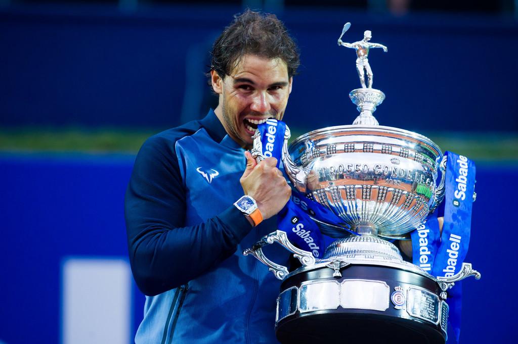 Rafael Nadal, campeón de Barcelona por novena vez