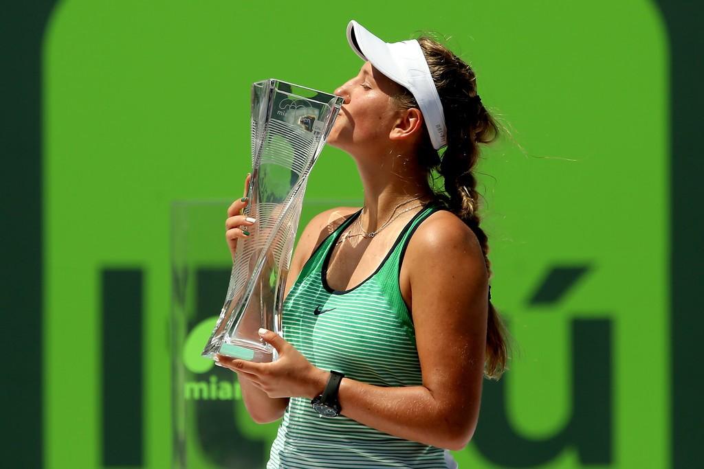 Victoria Azarenka, campeona del Miami Open 2016