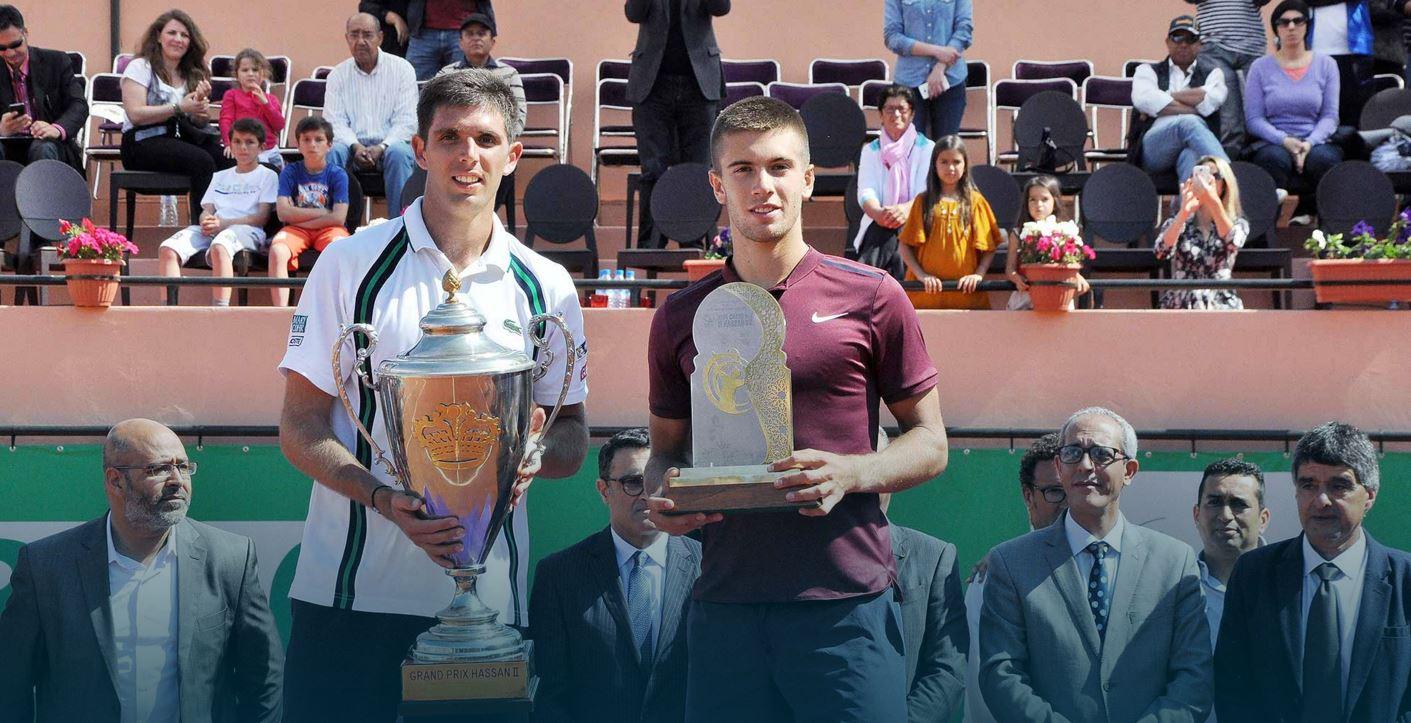 Federico Delbonis y Borna Coric, campeón y finalista en Marrakech