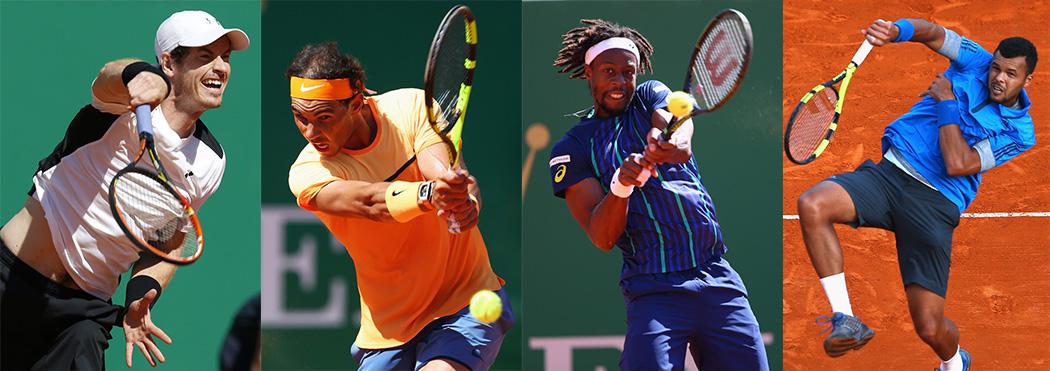 Murray, Nadal, Monfils y Tsonga: los semifinalistas de Montecarlo 2016
