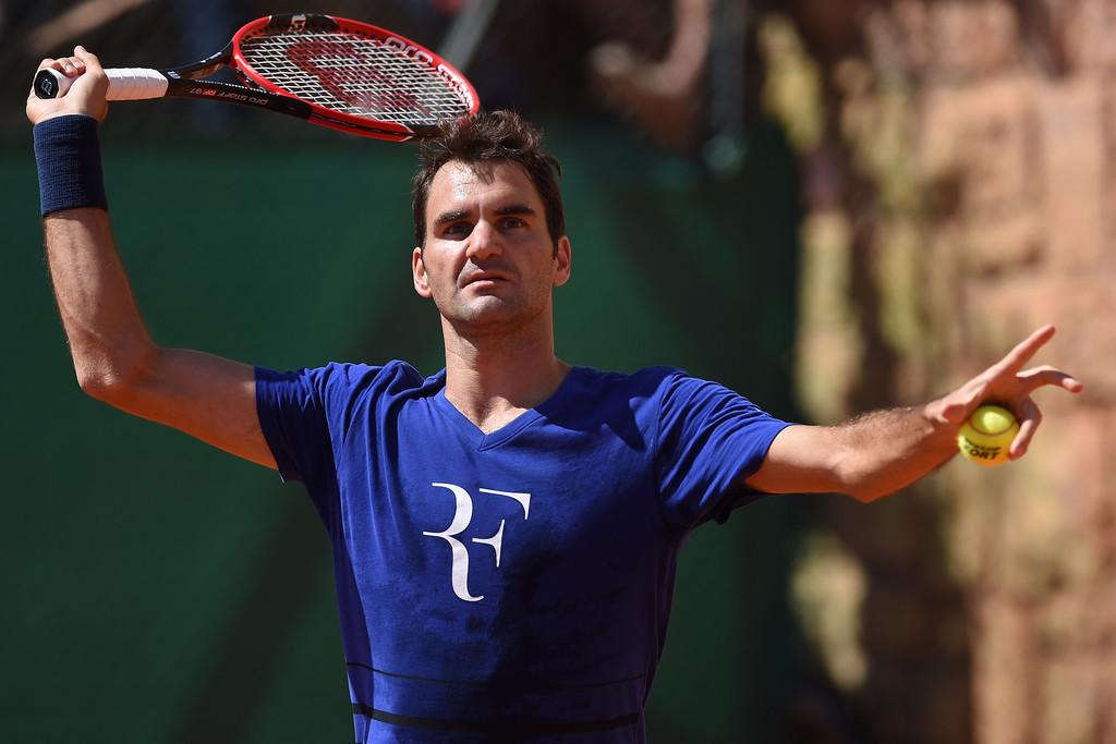 Roger Federer en Montecarlo