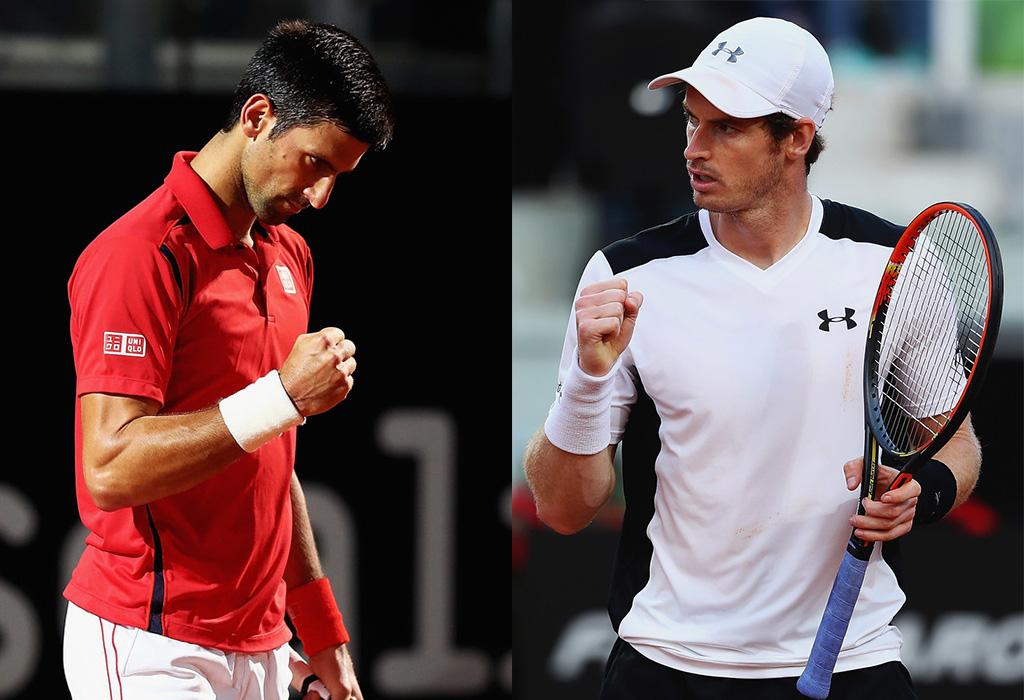 Novak Djokovic y Andy Murray, los protagonistas de la gran final de Roma
