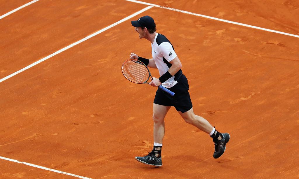 Andy Murray, campeón del Masters 1000 de Roma