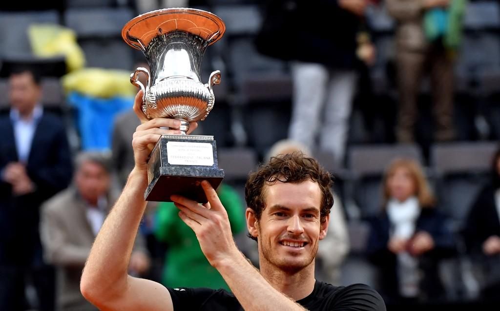 Andy Murray, campeón de Roma 2016