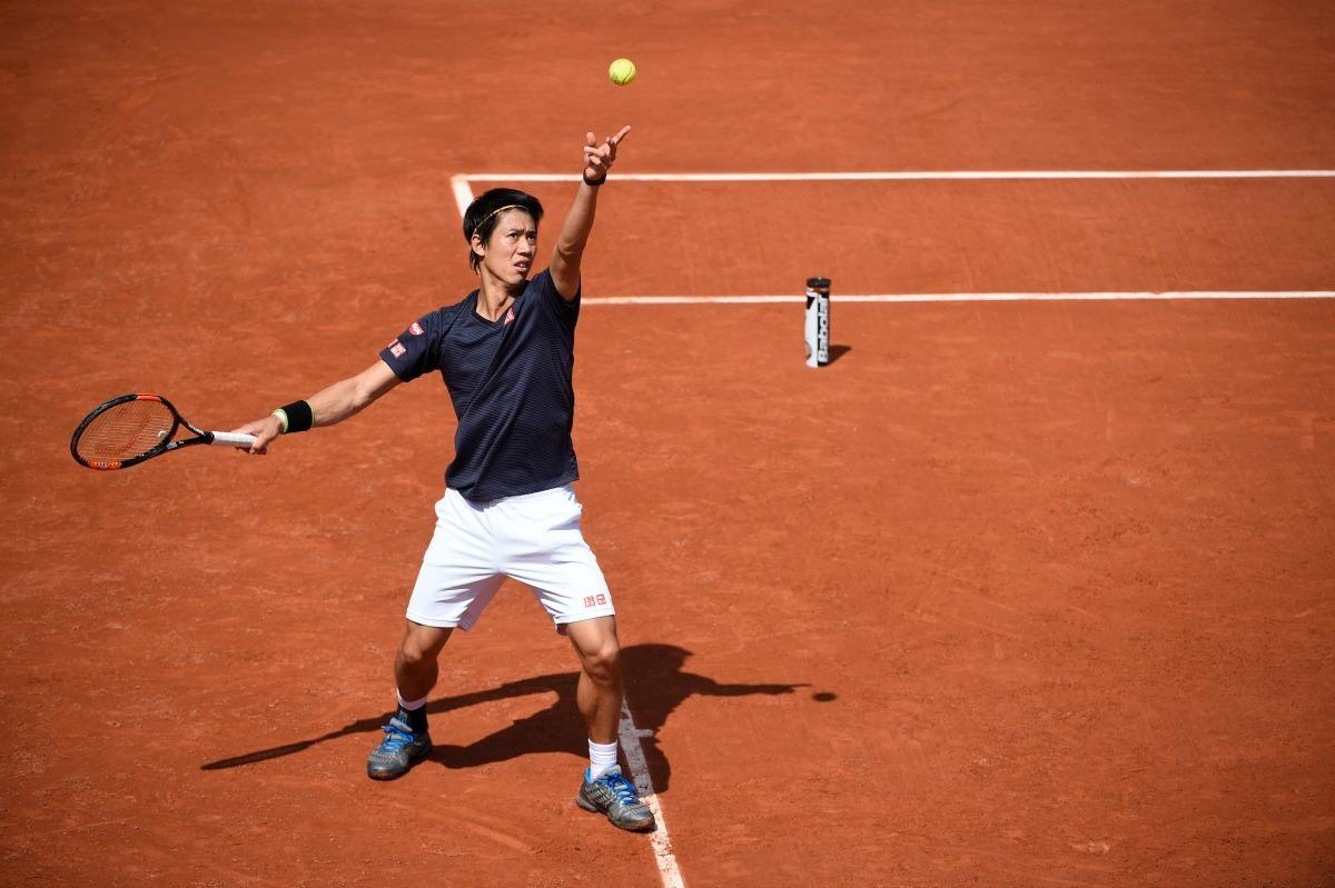 Kei Nishikori en Roland Garros 2016