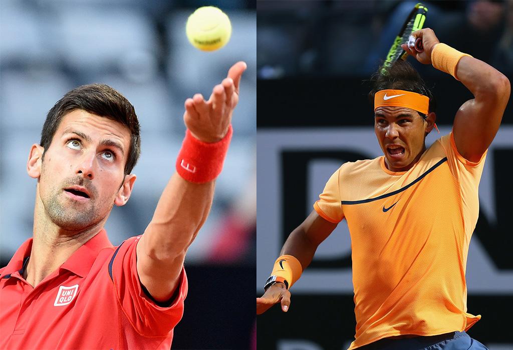 Novak Djokovic y Rafael Nadal: el partido de la jornada en Roma