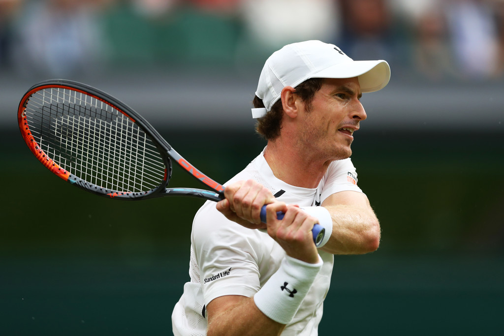 Andy Murray en Wimbledon