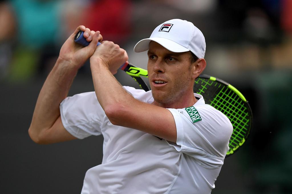 Sam Querrey en Wimbledon