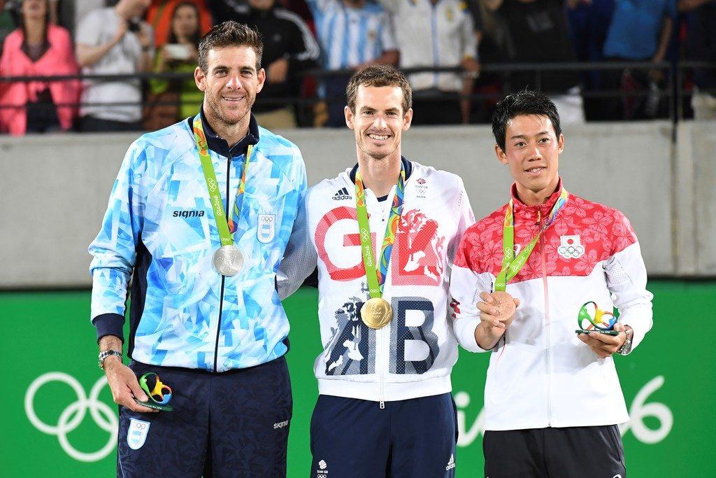 El podio de Rio 2016