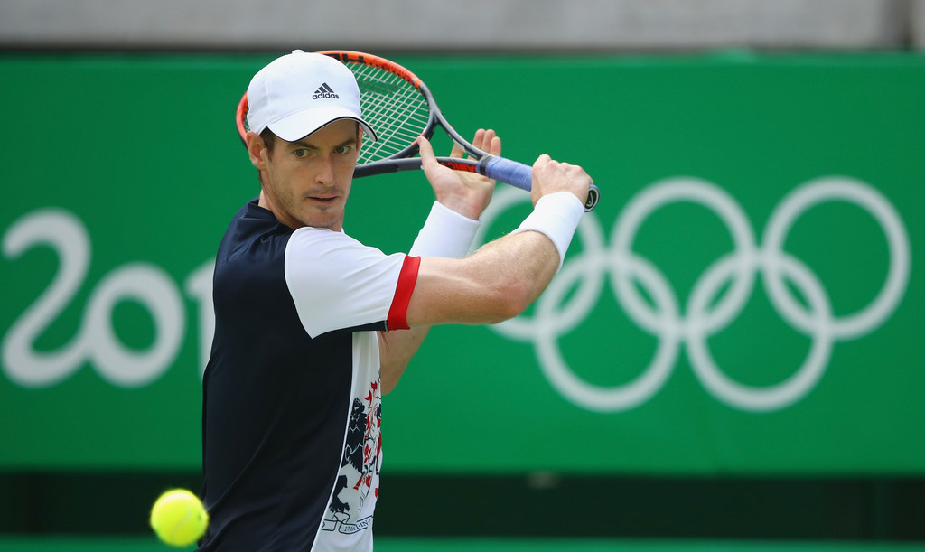 Andy Murray en Rio 2016