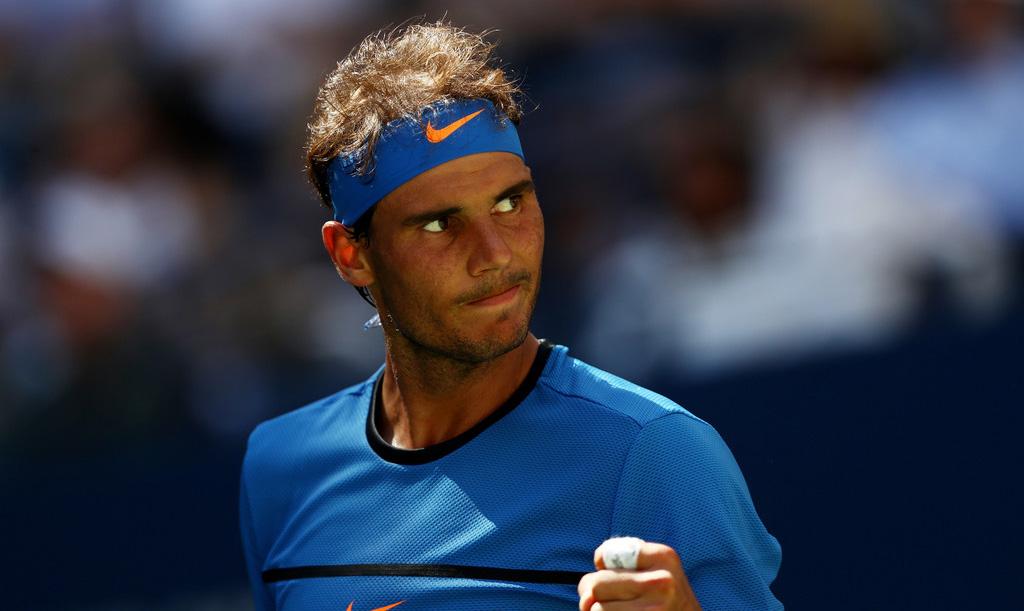 Rafael Nadal en el US Open 2016