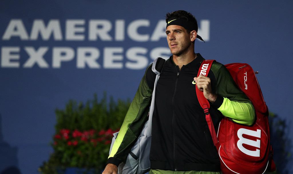 Juan Martín del Potro en la segunda ronda del US Open 2014