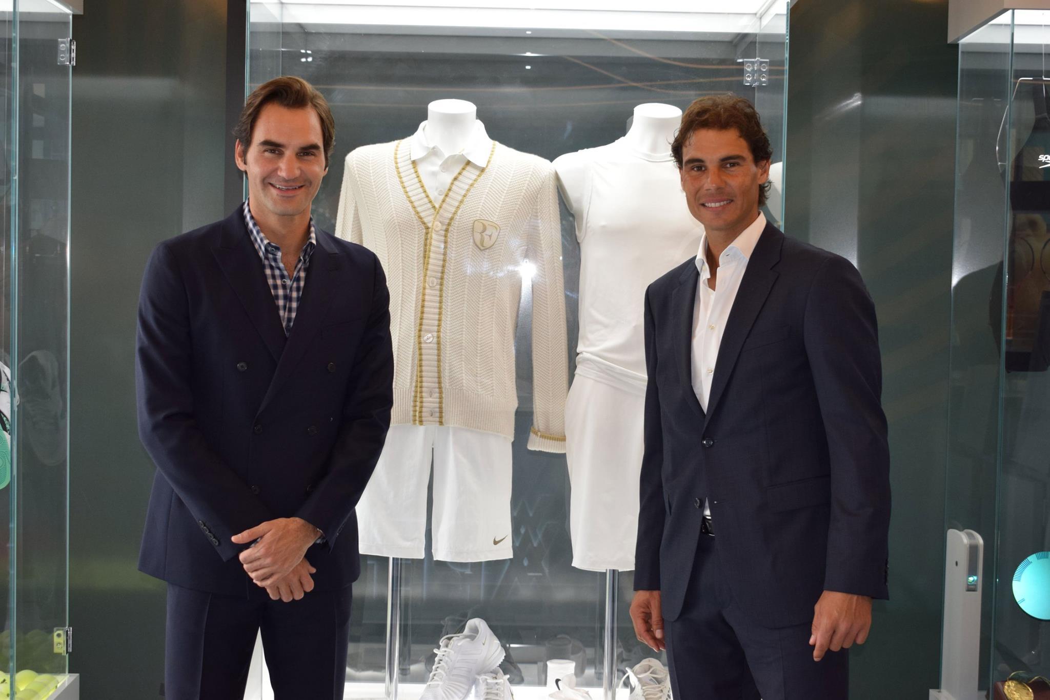 Federer, Nadal y su ropa de la final de Wimbledon 2008