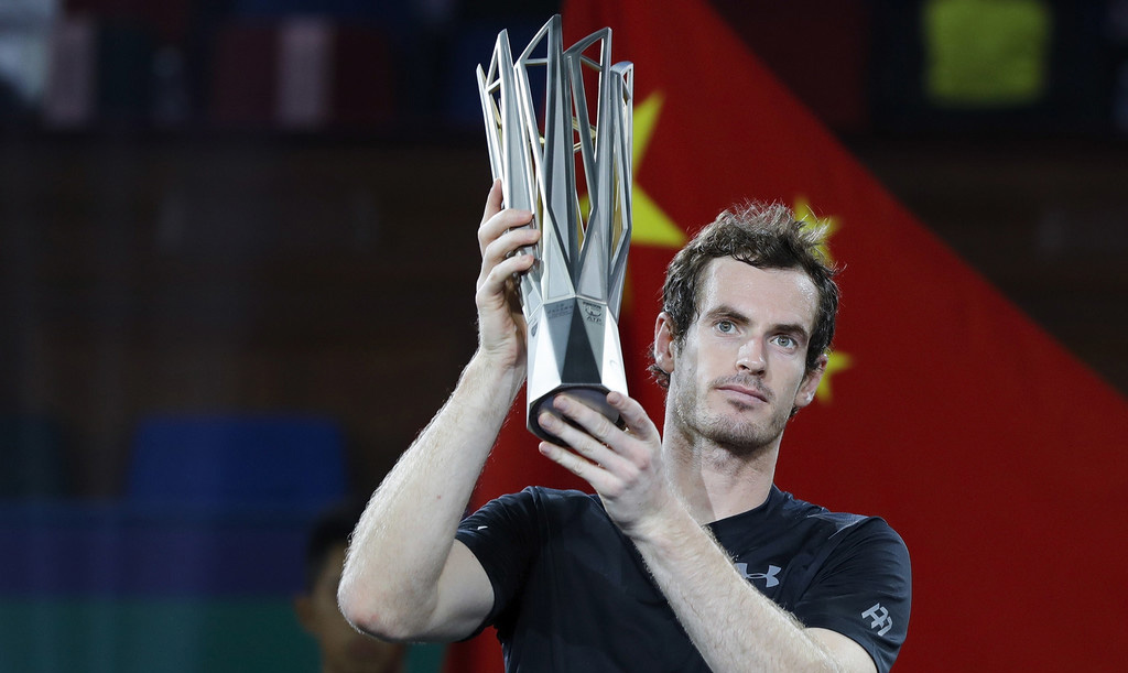Con el título de Murray en Shanghai, la carrera hacia el número uno del ATP se puso aún más caliente