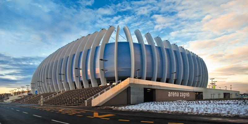 El Arena Zagreb, sede de la final de la Copa Davis 2016