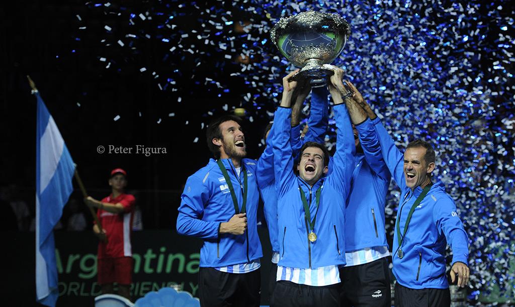 Argentina, campeona de la Copa Davis 2016