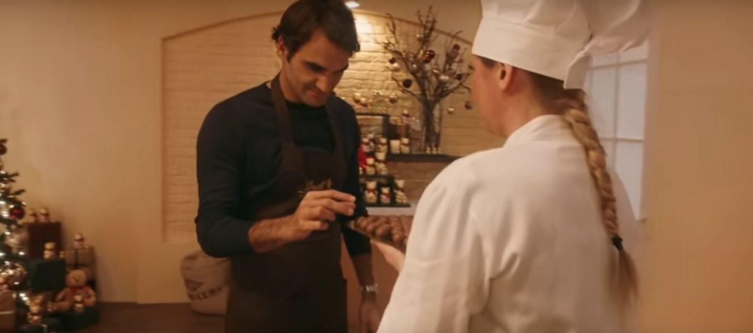 Roger Federer supo resistir a la tentación