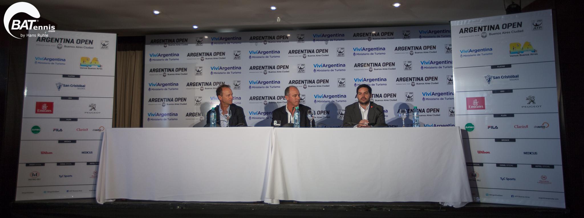 Lanzamiento del Argentina Open 2017