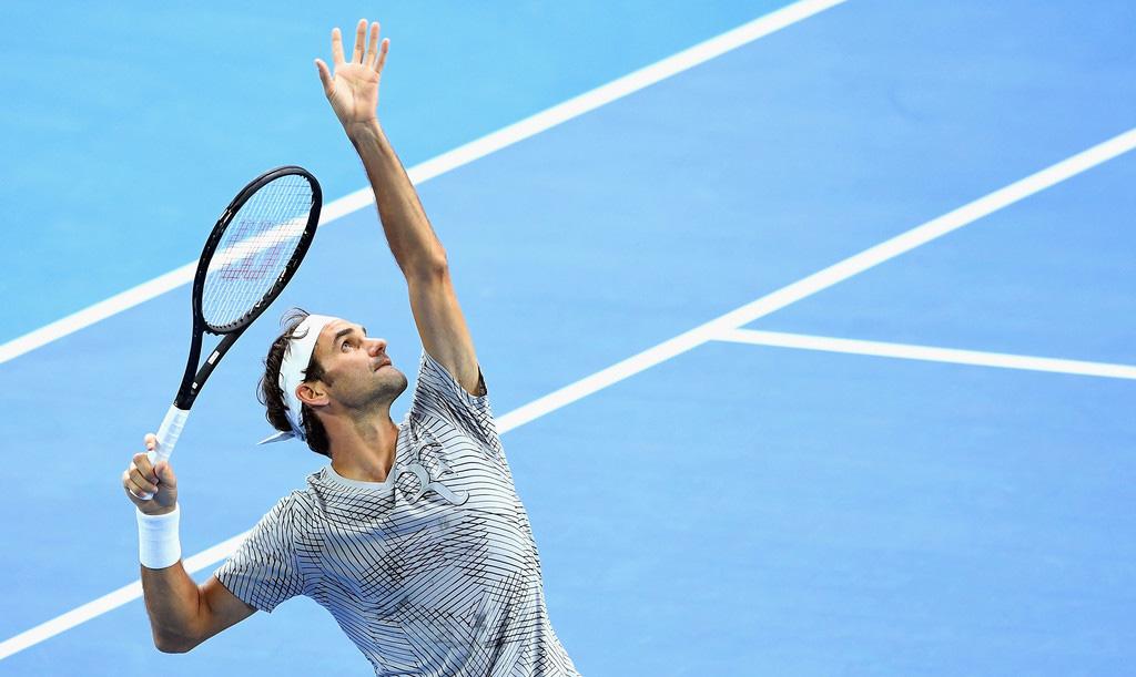 Roger Federer en el Australian Open 2017