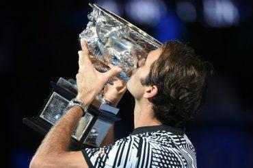 Roger Federer, como en los mejores cuentos