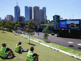 Melbourne a la hora del Australian Open