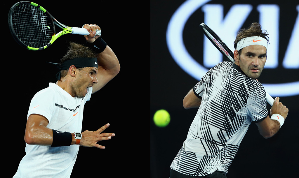 Rafael Nadal y Roger Federer, los finalistas del Australian Open 2017