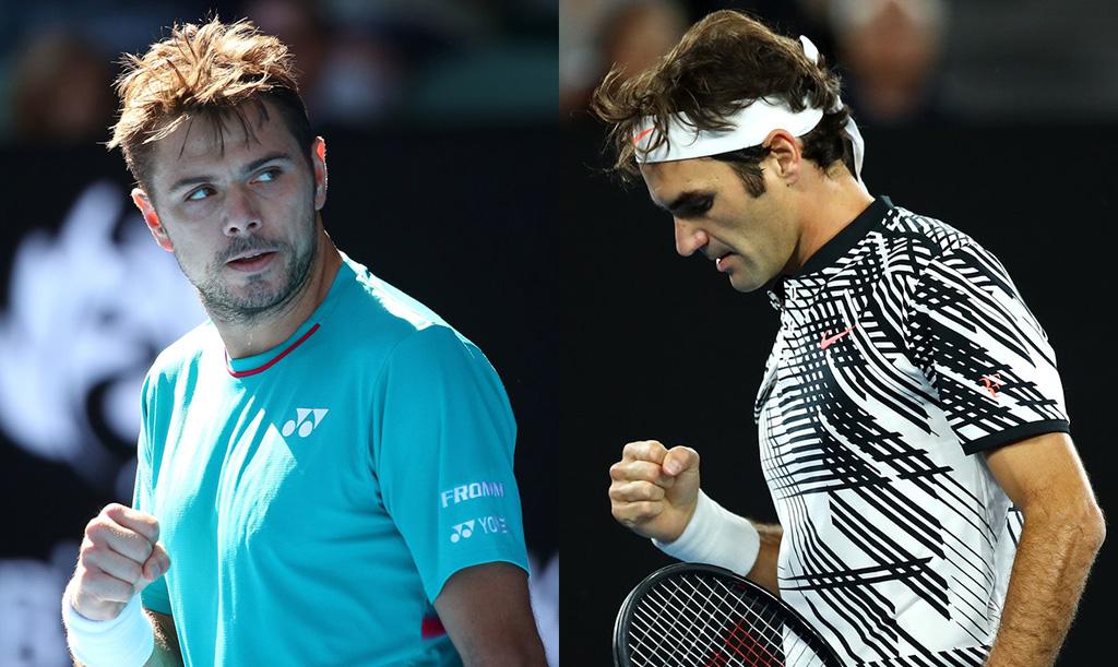 Wawrinka vs Federer, la primera semi del Australian Open